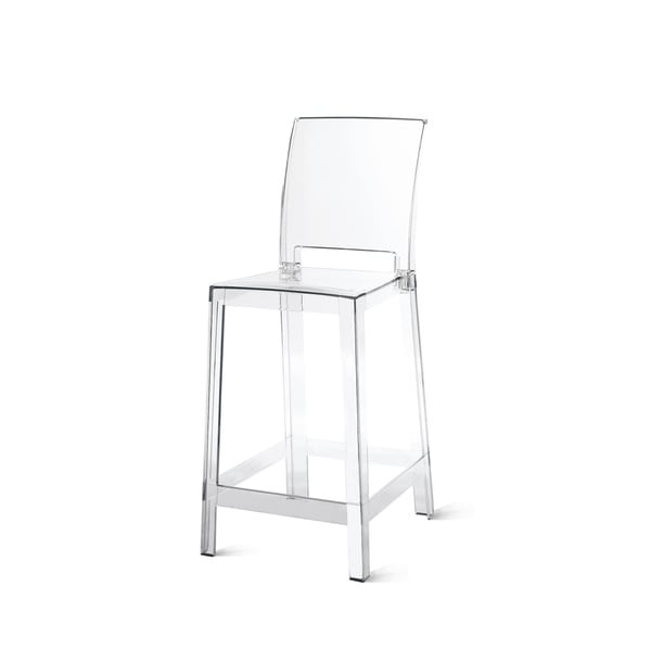 Kunis Clear Polycarbonate Bar Stool (Set of 2)