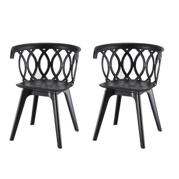 Shop Warehouse Of Tiffany Callan Latte Dining Chairs (Set