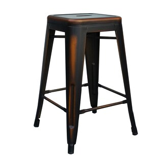 Eisen Metal Counter Stool (Set of 4)
