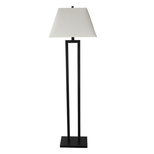 Fangio Lighting Bronze Finish Metal 60-inch Floor Lamp