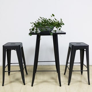 Ellie Gray Metal Barstool (Set of 4)