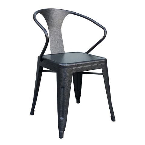 Sabita Grey Metal Dining Chair (Set of 4)