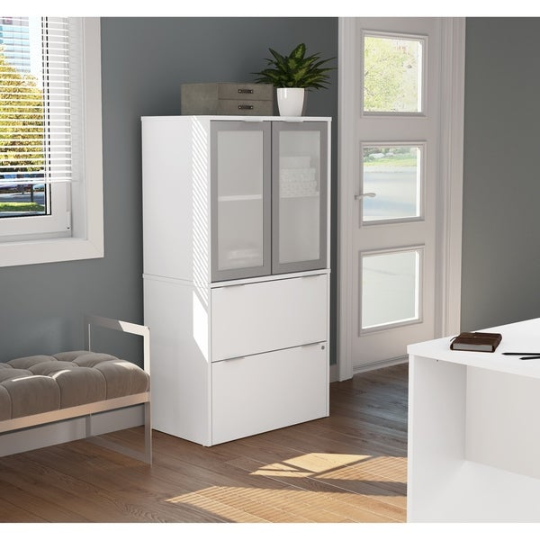 Shop Bestar I3 Plus Lateral File With Storage Cabinet