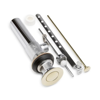 Keeney K820-77PB Mechanical Sink Pop-up Assembly Includes Mounting Ring - Polished Brass