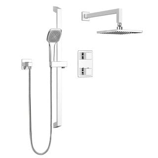 Link to Belanger Quadrato Thermostatic Wall Shower Kit Similar Items in Showers