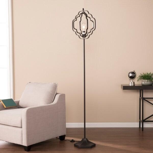 Harper Blvd Lofton Black Geometric Floor Lamp