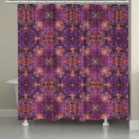 Laural Home Azalea Leaves Shower Curtain