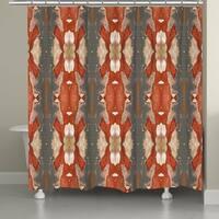 Laural Home Autumn Crepe Myrtle Shower Curtain