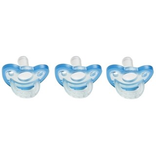 JollyPop Pacifiers PREEMIE Size FOR PREMATURE OR SMALL FULL TERM BABY'S Blue Natural Scent (3 Count)