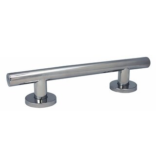Keeney Architectural Designer Grab Bar, Polished Chrome,24 Inch