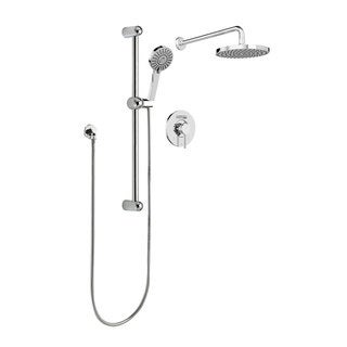 Belanger KIT-DEL130CCP Delphi Pressure Balanced Shower System, Polished Chrome