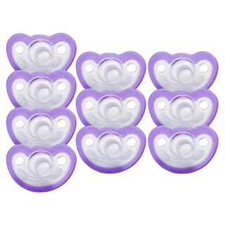JollyPop 0-3 Months Pacifier 10 Pack Vanilla Scented - Lavender