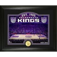 """Sacramento Kings """"Court"""" Bronze Coin Photo Mint - Multi-color"""