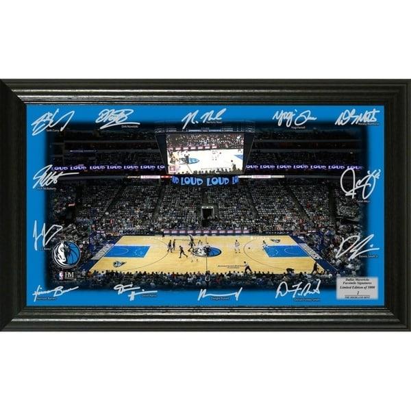 Dallas Mavericks Signature Court - Multi-color