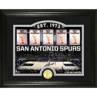 """San Antonio Spurs """"Court"""" Minted Coin Photo Mint - Multi-color"""