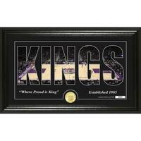 "Sacramento Kings ""Silhouette"" Bronze Coin Photo Mint - Multi-color"