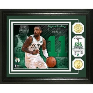Kyrie Irving Bronze Coin Photo Mint - Multi-color