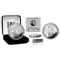 Minnesota Timberwolves Silver Mint Coin - Multi-color