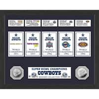 Dallas Cowboys Champions Banner Collection Photo Mint