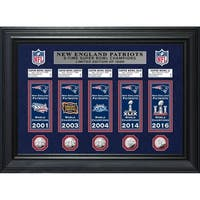 New England Patriots Champions Deluxe Banner Collection