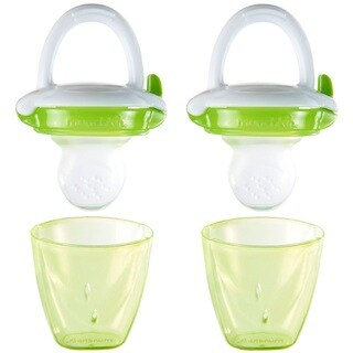 Munchkin Baby Food Feeder - Green - 2 Pack