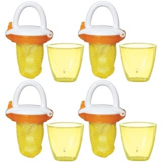 Munchkin Deluxe Fresh Food Feeder - Colors May Vary - 4 Count