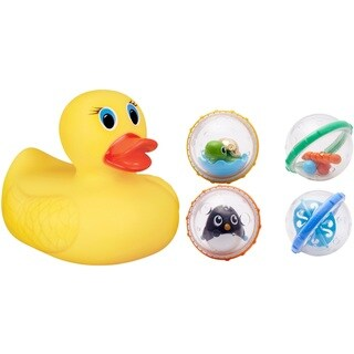 Munchkin Float Play Bubbles Bath Toy with White Hot Ducky