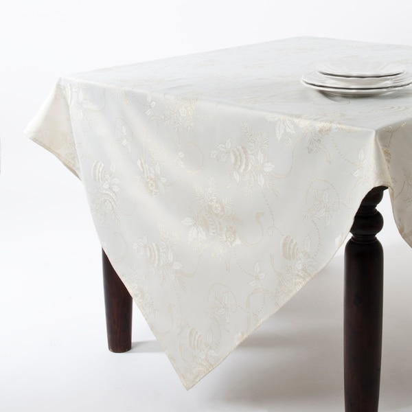 Jacquard Holiday Tablecloth - 70 inches x 160 inches