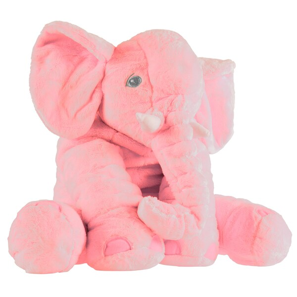 Elephant Stuffed Animal Toy- Plush, Soft Animal Pillow Friend Happy Trails