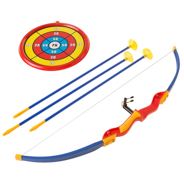 Deluxe Wooden Prop Bow and Arrow Set