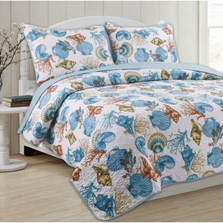 Panama Jack Marine Sanctuary Cotton Quilt Set