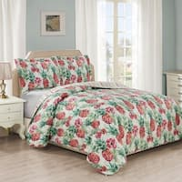 Panama Jack Fresh Pineapple Quilt Set