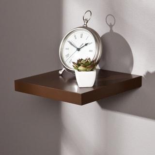 Porch & Den Hi-Line 10-inch Espresso Floating Shelf