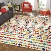 Palm Canyon Fairway Multi Rug (5' x 8') - 5' x 8'