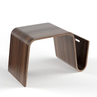 Palm Canyon Stardust Bentwood Magazine Table
