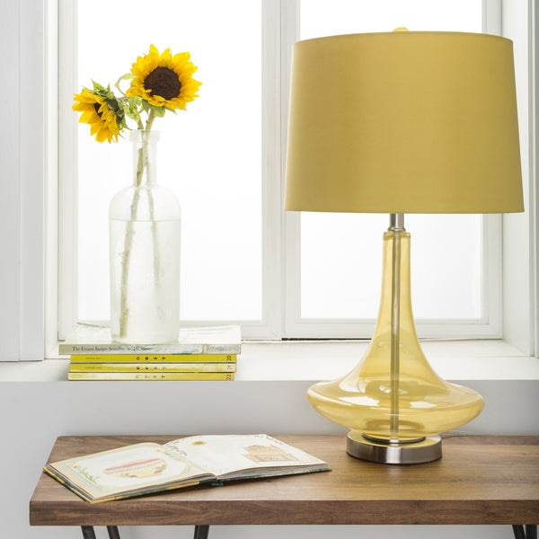 Carson Carrington Paimio Solid Yellow Bray Table Lamp. Opens flyout.