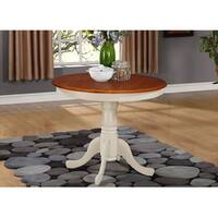 Laurel Creek Karter Wood 36-inch Round Antique Table