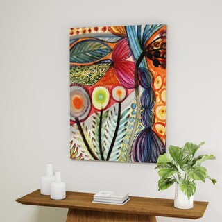 Palm Canyon 'Vivaces' Gallery Wrapped Canvas Art