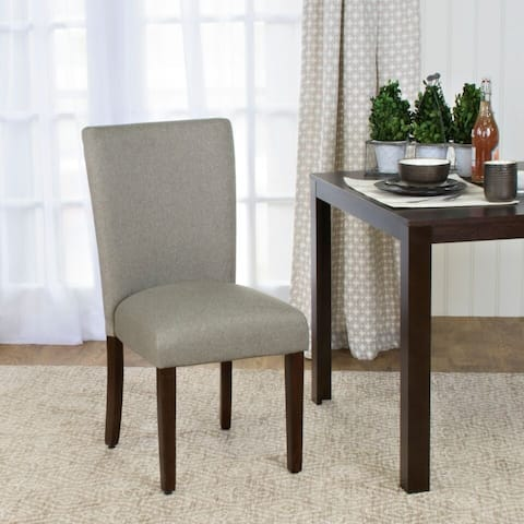 HomePop Textured Parson Dining Chair