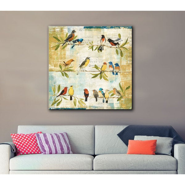 Laurel Creek Avery Tillmon's Adoration of The Magpie Gallery Wrapped Canvas