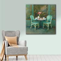 Laurel Creek Danhui Nai's 'Joy of Paris 2' Gallery Wrapped Canvas Wall Art