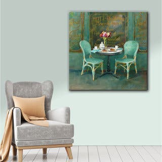 Copper Grove Danhui Nai's 'Joy of Paris 2' Gallery Wrapped Canvas Wall Art
