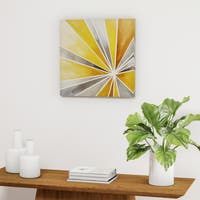 Palm Canyon Ray of Sunshine Gel Coat Canvas
