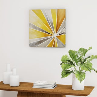 Palm Canyon Ray of Sunshine Gel Coat Canvas