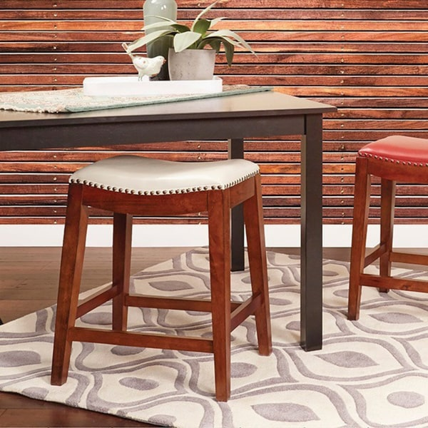 Shop Copper Grove Five Bridge 24 Inch Saddle Stool With
