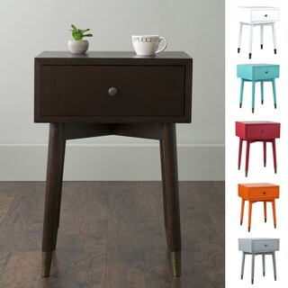 East At Main's Weeks Acacia Wood Square Accent Table