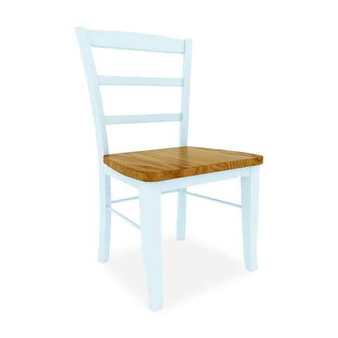 The Gray Barn Moonshine Wood Ladder Dining Chair (Set of 2)
