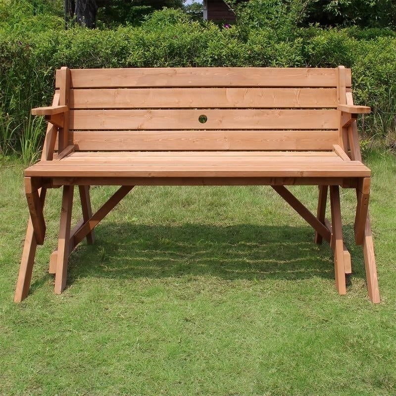 Awesome Havenside Home Surfside Interchangeable Picnic Table Gmtry Best Dining Table And Chair Ideas Images Gmtryco