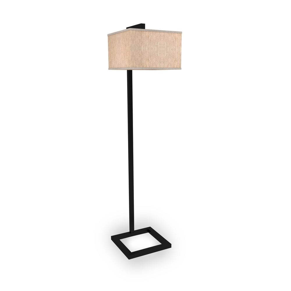 Modern farmhouse style floor lamp