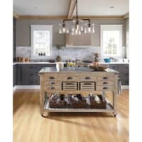 Avery Kitchen Island by Kosas Home - 36hx60wx30d